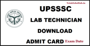 upsssc-lab-technician-admit-card