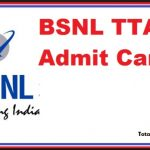 bsnl je hall ticket