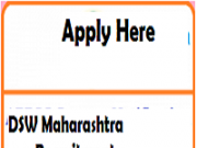 dsw maharashtra Recruitment