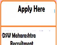 dsw maharashtra Recruitment