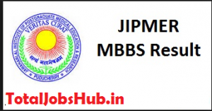 jipmer mbbs result