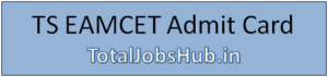 ts eamcet admit card