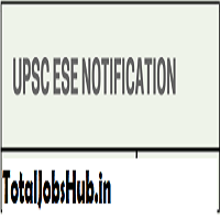upsc ese notification