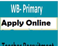 west bengal primary teacher recruitment