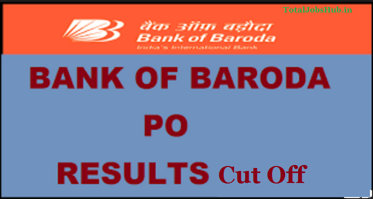bank of baroda po result