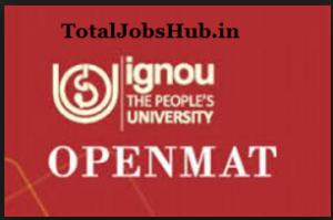 ignou openmet application form