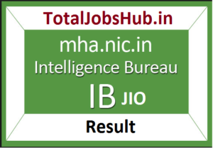intelligence bureau jio result
