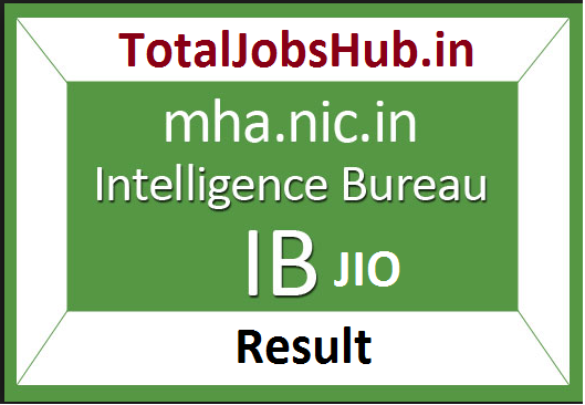 intelligence bureau jio result