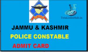 jk police constable admit card