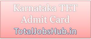 karnataka-tet-admit-card
