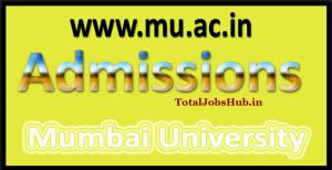 mumbai university admission form