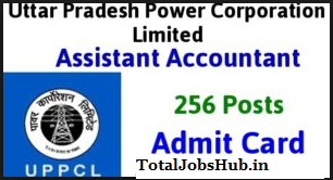 uppcl-assistant-accountant-admit-card