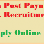 indian post payment bank recruitment