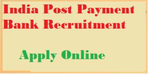 indian post payment bank recruitment