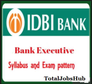 idbi bank executive syllabus