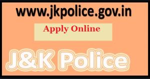 jk police recruitment