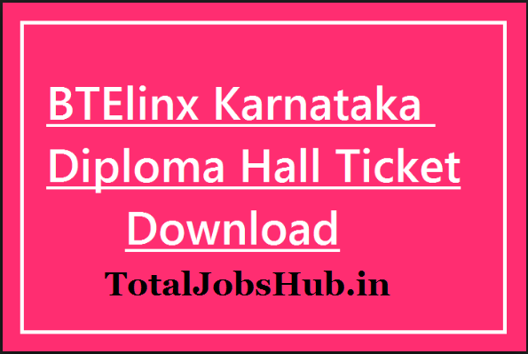 karnataka diploma hall ticket