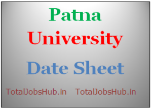 patna university date sheet