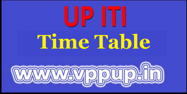 up iti date sheet