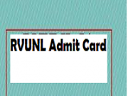 rvunl admit card 2018