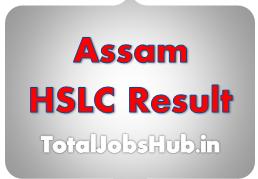 Assam HSLC Result