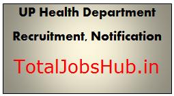 UP Health Department Recruitment