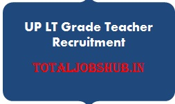 UP LT Grade Teacher Recruitment