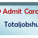 bro admit card