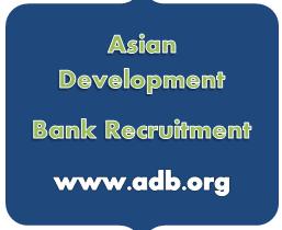 Asian Development Bank Recruitment