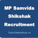 MP Samvida Shikshak Recruitment