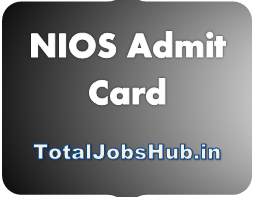 nios admit card