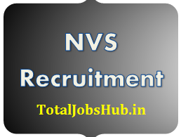 NVS Recruitment