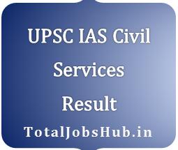 UPSC IAS Prelims Result