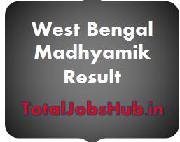 West Bengal Madhyamik Result