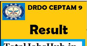 drdo ceptam 9 result