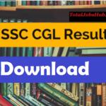 ssc cgl tier 1 result