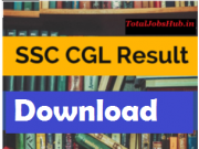 ssc cgl tier 1 result