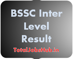 BSSC Inter Level Result