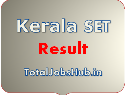 Kerala SET Result