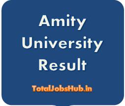 amity university results