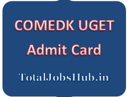 comedk ug admit card