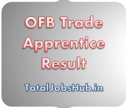 OFB Trade Apprentice Result