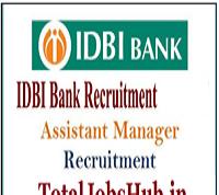 idbi bank assistant manager recruitment 2018