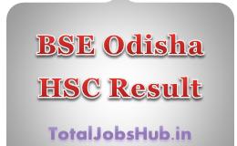 BSE Odisha HSC Result