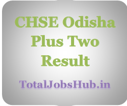 CHSE Odisha Plus Two Result