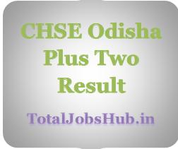 CHSE Odisha Plus Two Result