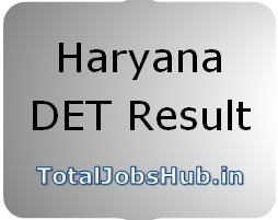 Haryana DET Result