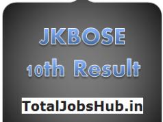 JKBOSE 10th Result