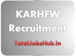 KARHFW Recruitment