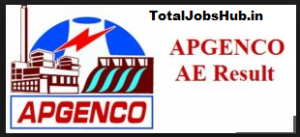APGENCO AE Results